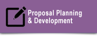 Proposal Planning & Development